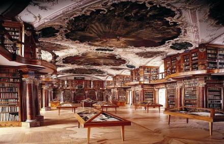 Abbey Library of St. Gallen - Switzerland