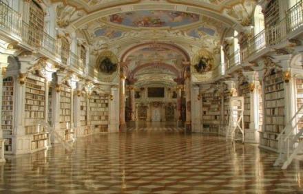 Admont Abbey Library - Avusturya