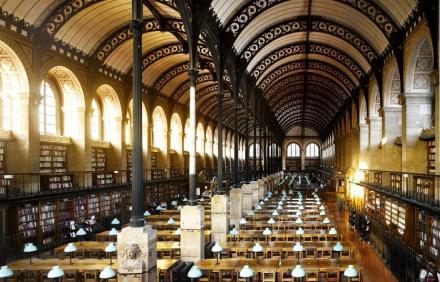 Bibliothèque Sainte-Geneviève, Fransa
