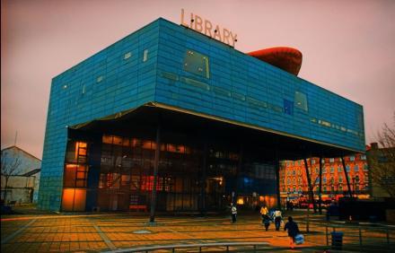 Peckham Kütüphanesi (Londra'nın Güneyi)
