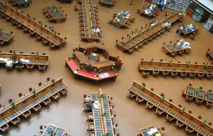 Victoria Melbourne - Avustralya Devlet Kütüphanesi