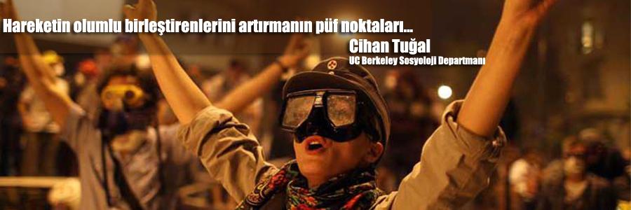 Cihan Tuğal, Gezi Parkı hareketini ele aldı...
