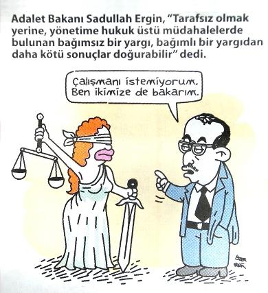 turkiye de adalet aramak kerhanede